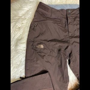 The North Face brown ski pants women's M